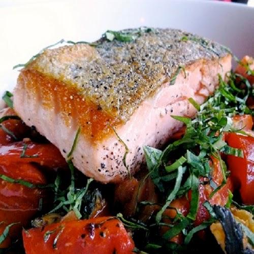 http://secretcopycatrestaurantrecipes.com/gordon-ramsays-crispy-salmon-recipe/