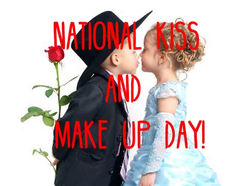 national kiss someone day