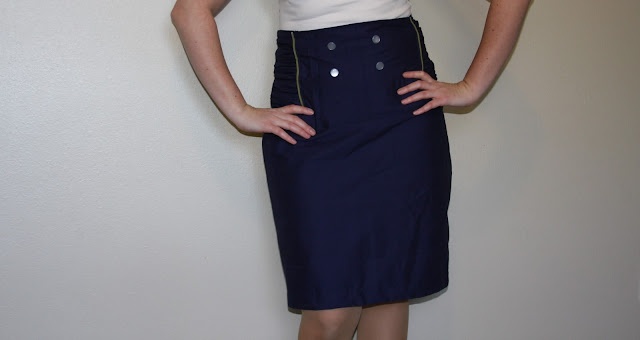 military skirt sewing tutorial