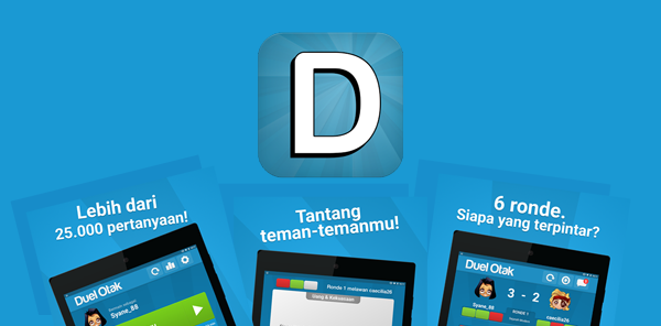 "Download Game ""Duel Otak"" di Android"