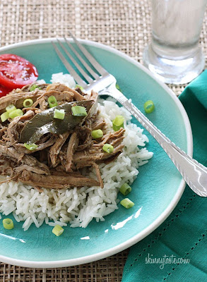 Slow Cooker Filipino Adobo Pulled Pork from Skinnytaste found on SlowCookerFromScratch.com
