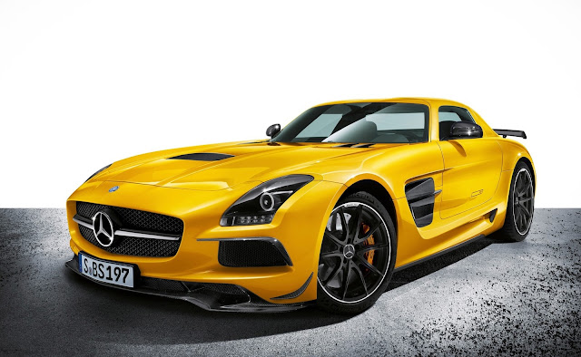 Mercedes SLS AMG GT Black Series