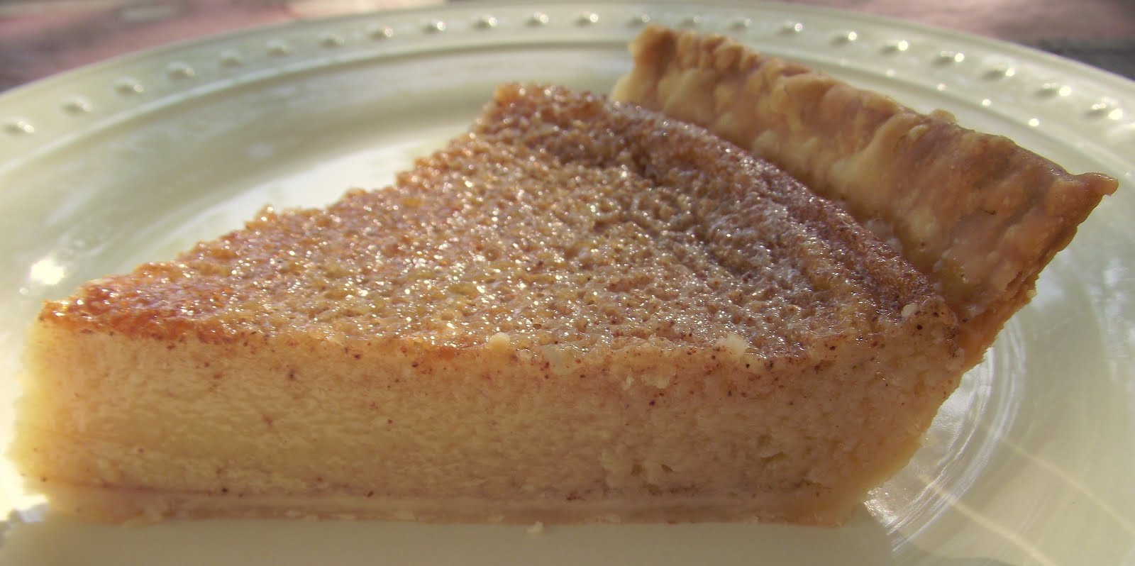 The Family Foodie » Caramel Custard Pie