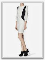 Платье-футляр от Mango в стиле 50-х гг.