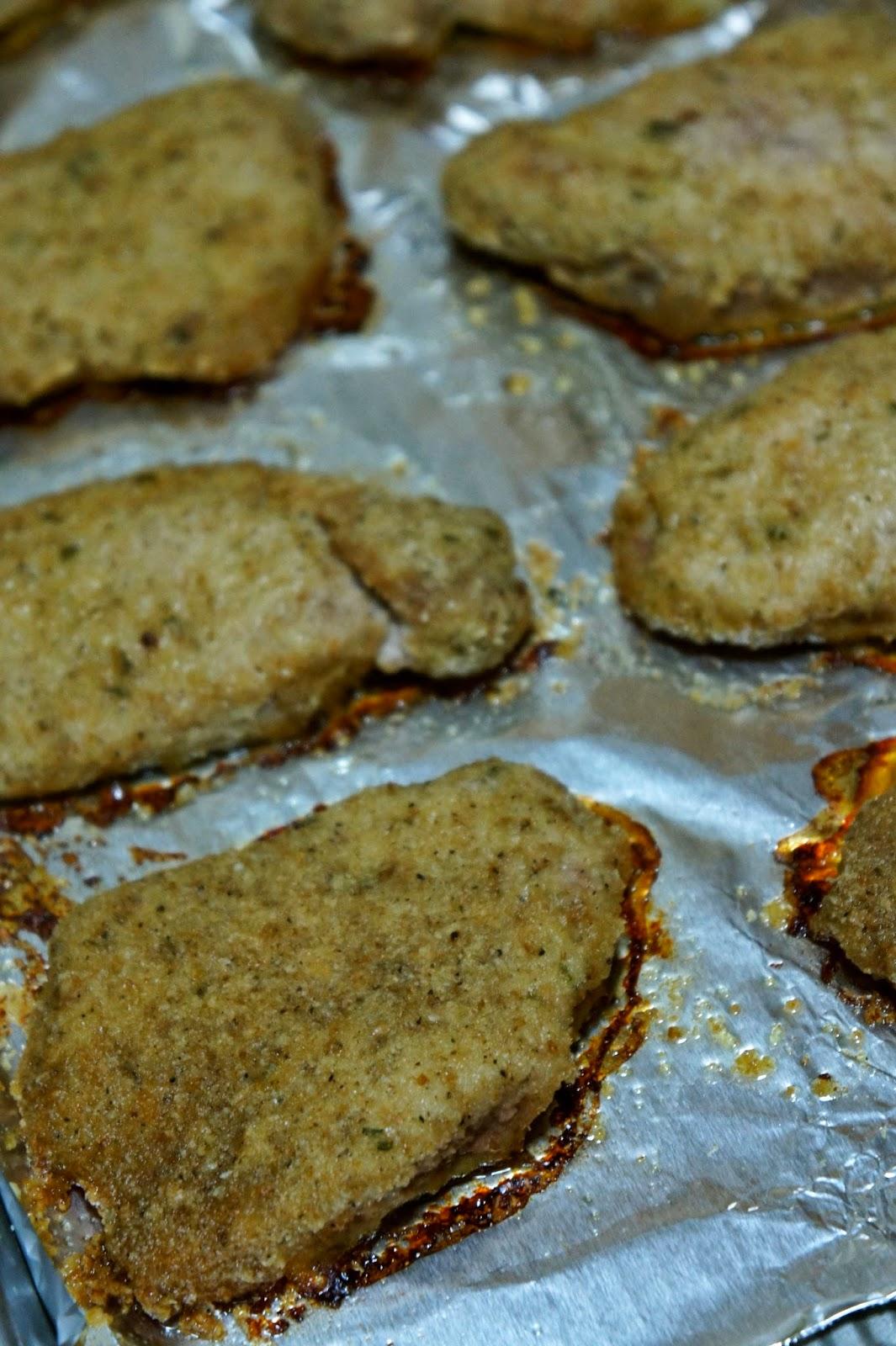 Parmesan Baked Pork Chops: Savory Sweet and Satisfying