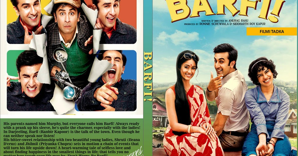 ... Barfi! (2012) Download Latest Hindi Movie [DVD-Rip] - [1CD-Xvid-700MB