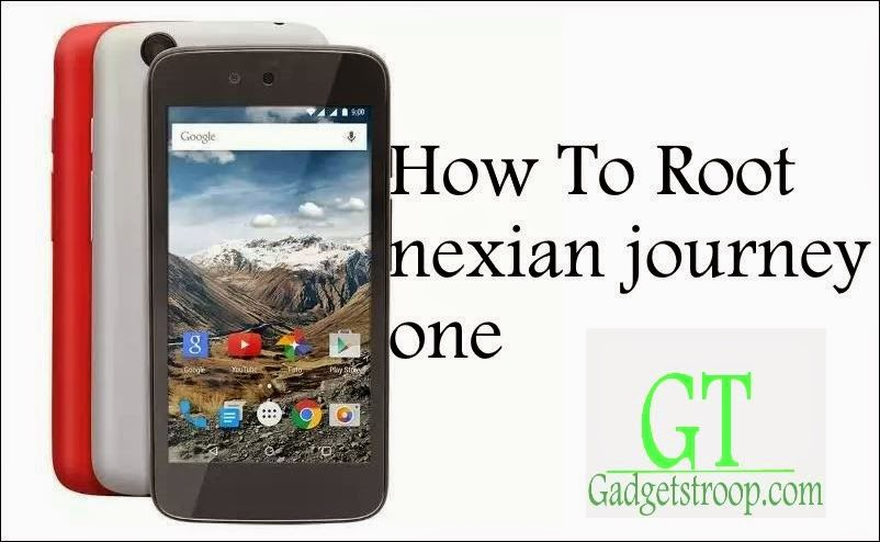 unlock bootloader,install recovery and root nexian journey one