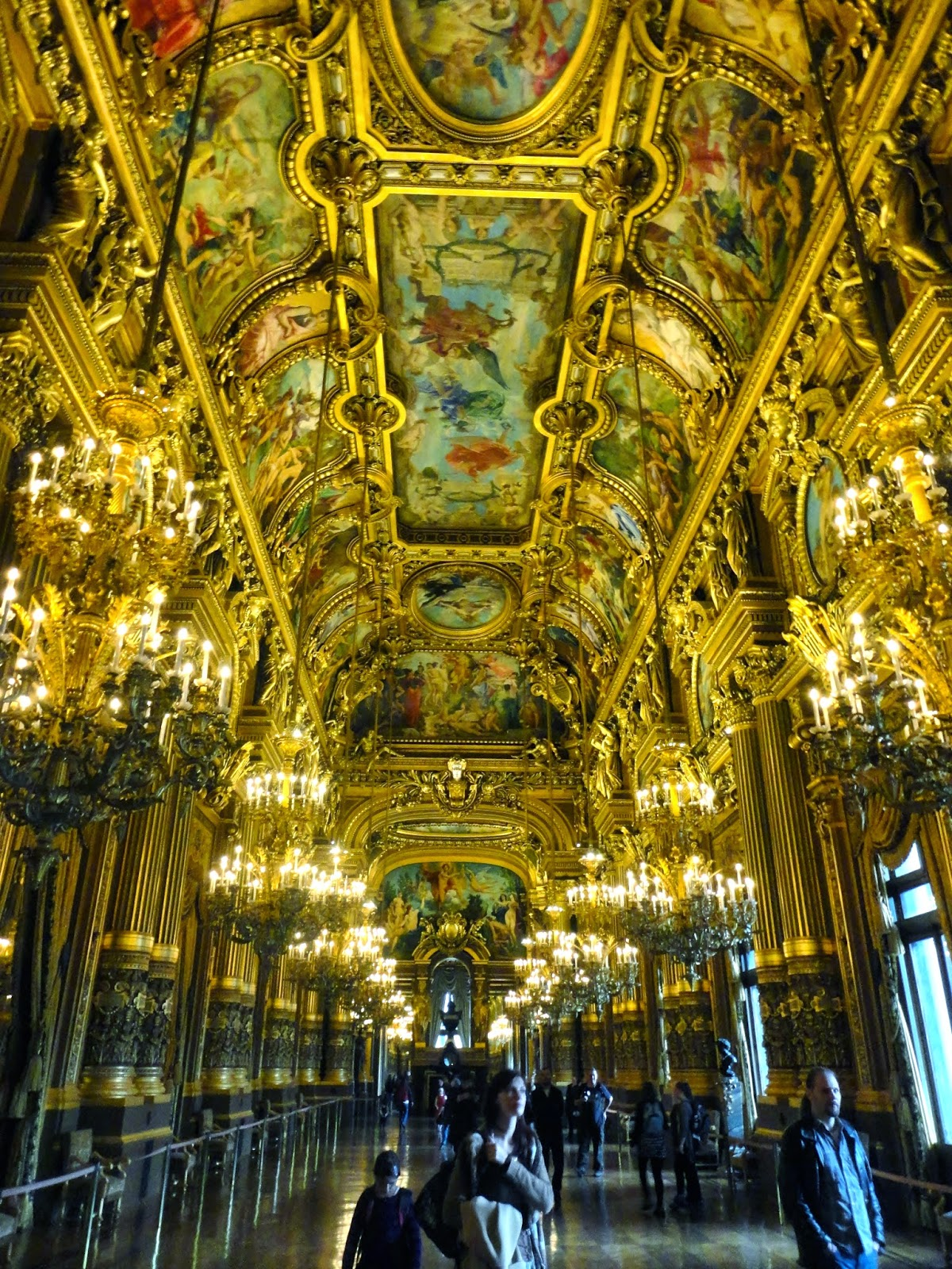 Interior of Opera Garnier, Paris