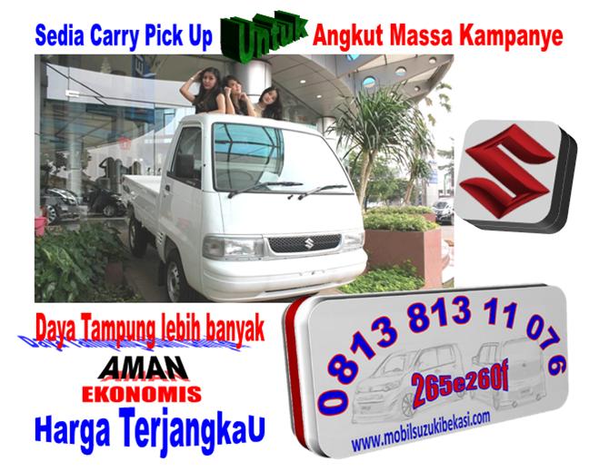 Promo Suzuki Carry Pick Up Untuk Kampanye ParPol