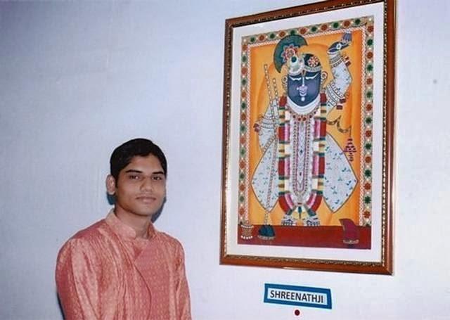 Dhaval Khatri - A Unique Artist without Hands