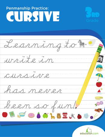 Practicing Cursive Handwriting