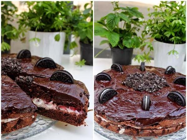 Eine kleine Sünde - Schoko-Kirsch-Oreo-Kuchen ♥