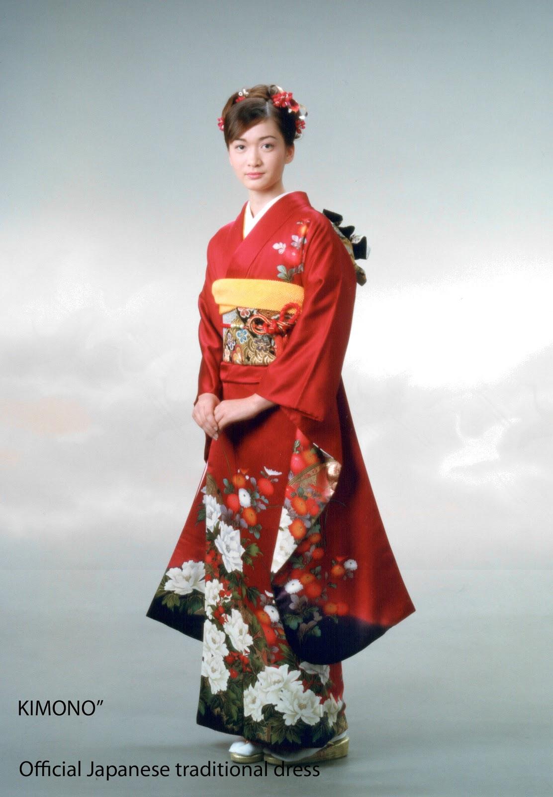 Kimono Japanese Traditional Dress Mode