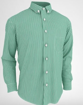 green monster custom made men's dress shirts