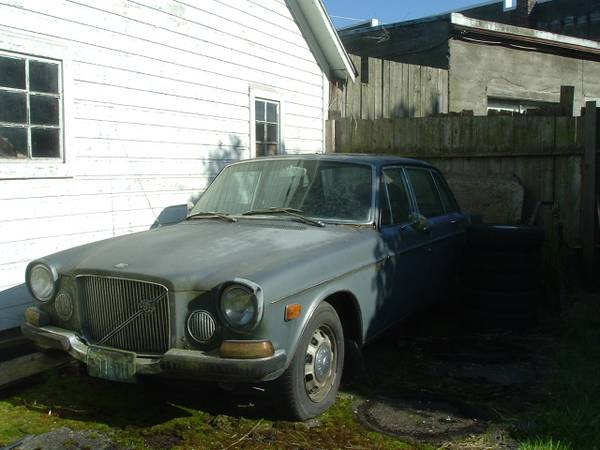 Restoration Project Cars 1971 Volvo 164 Project For Sale