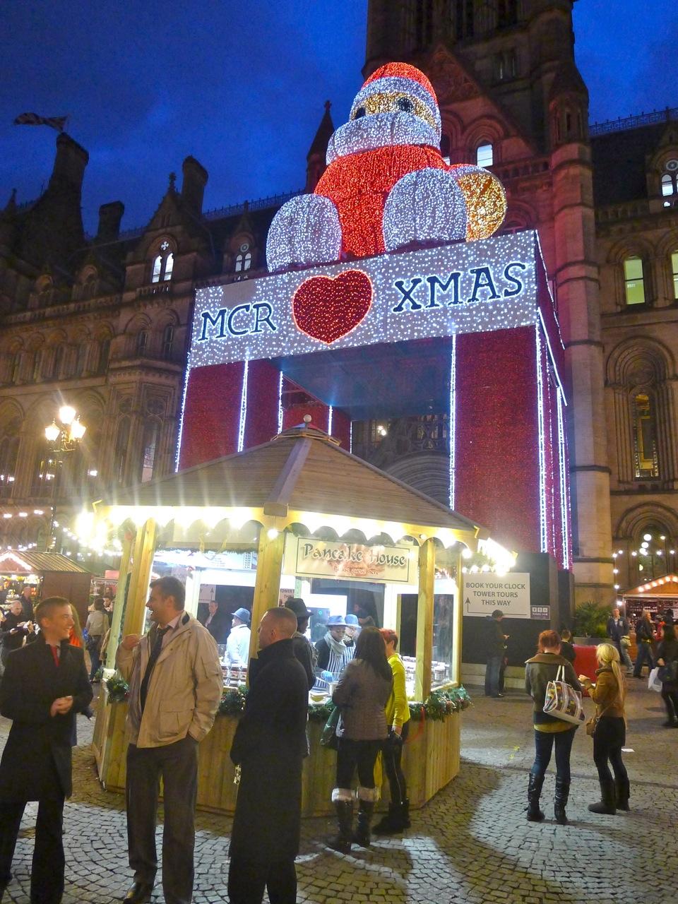 manchester christmas market 2018 start date