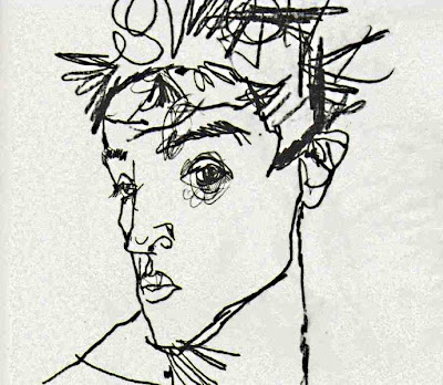 Egon Schiele - Autoretrat