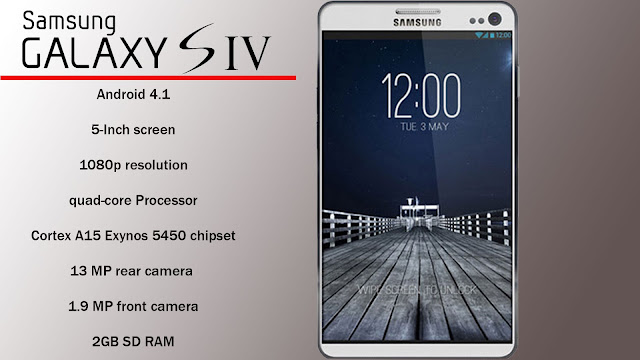 Samsung Galaxy S4 [ Samsung Galaxy S4 First Look, Samsung Galaxy S4 Specs, Samsung Galaxy S4 Video, Samsung Galaxy S4 price, Samsung Galaxy S4 launch date ]