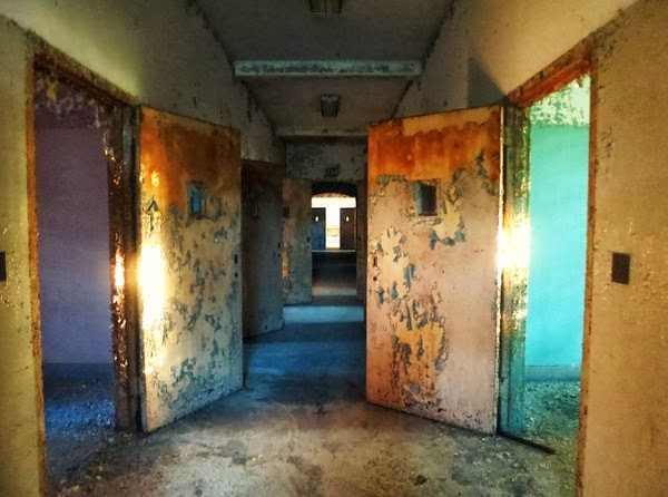 abandoned psychiatric ward