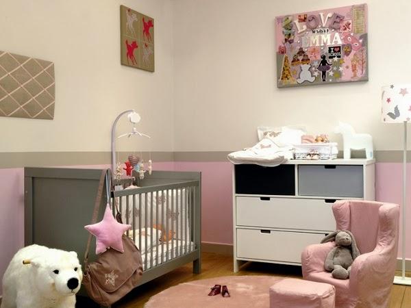Ide dco chambre bb mixte deco chambre bebe fille rose et gris deco gris et rose chambre fille for Idee deco chambre ado mixte