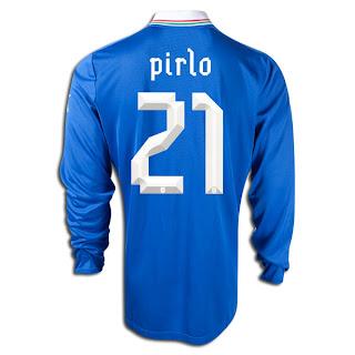 PUMA Andrea Pirlo Italy Home Jersey