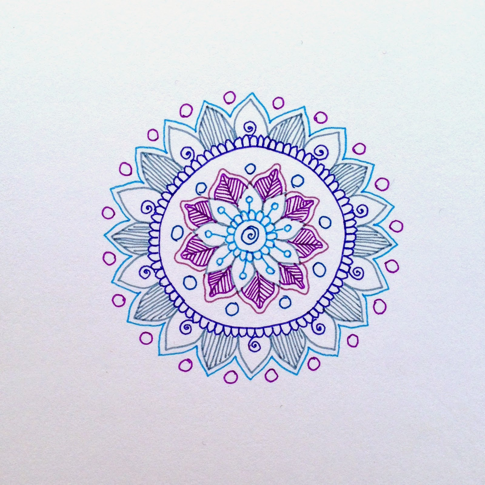 Magamerlina mehndi inspired mandala tutorial for Simple designs on paper