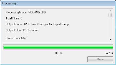 Photopus - 4 Processamento
