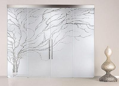 Decoraciones y mas decora con modernas puertas de cristal for Puertas de cristal modernas