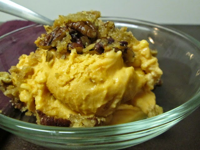 Sweet Potato Casserole Ice Cream