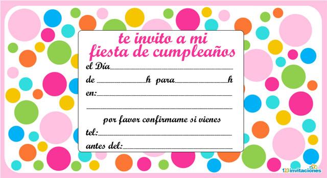 invitaciones de cumpleanos en espanol para adultos - zrom.tk