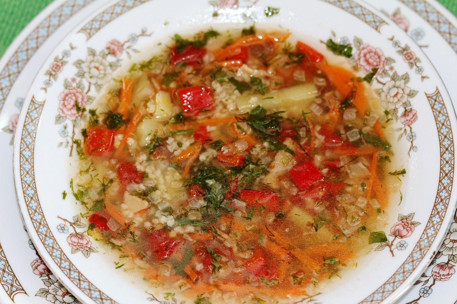 Суп полевой с пшеном рецепт пошагово