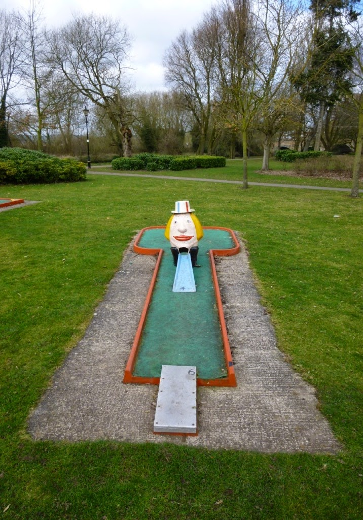 Minigolf in Tamworth, Staffordshire