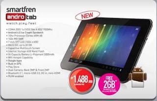 Spesifikasi dan Harga Tablet Murah Smartfren Andro Tab 7