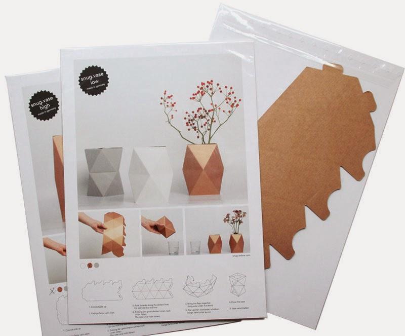 Jarrón cartón Snug Studio