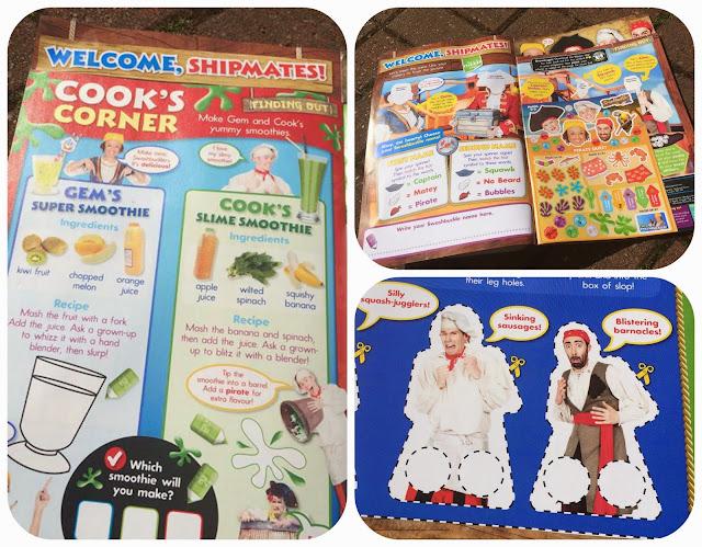 Swashbuckle magazine, cook's corner
