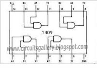 7409 What is analog to digital converter  ADC using LM324 IC