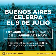 BUENOS AIRES CELEBRA EL 9 DE JULIO