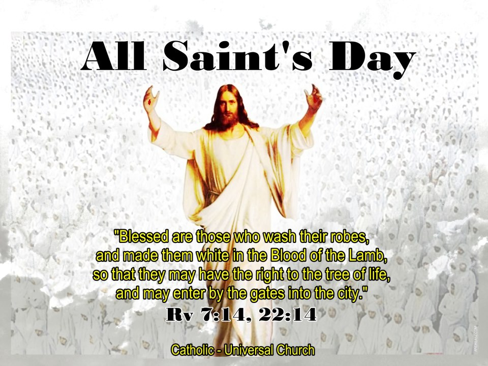 how all saints day through the All saints day falls on 1st november, and is a 'holy day of obligation' in the  catholic church this means that on this  it is followed by all souls' day this is  a.