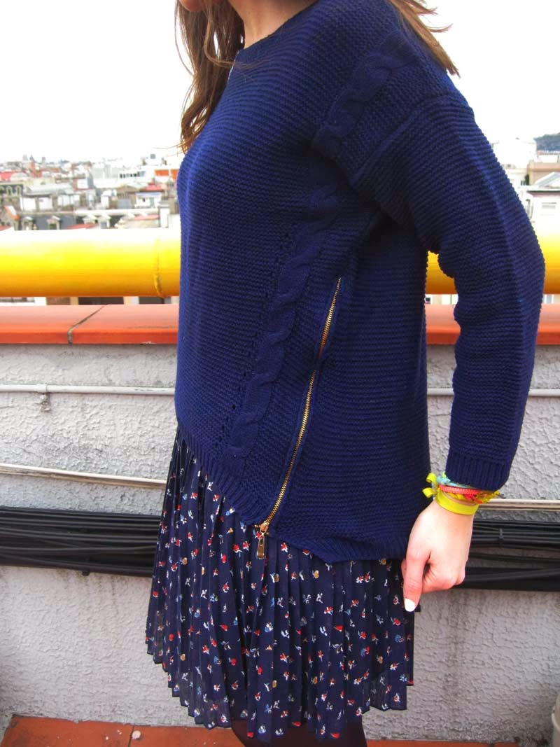 Sammydress blue jumper