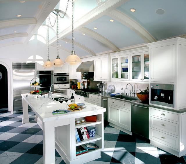 Checkered Kitchen Floor: Calling It Home