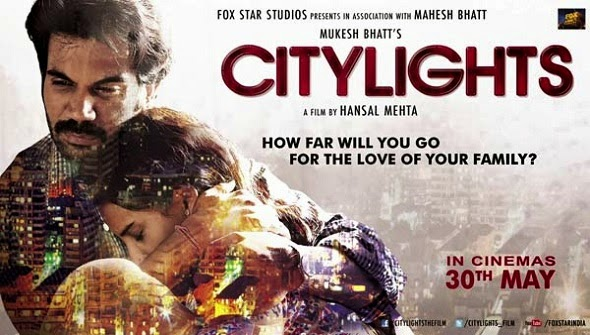 City Lights 2014 Hindi Movie Poster