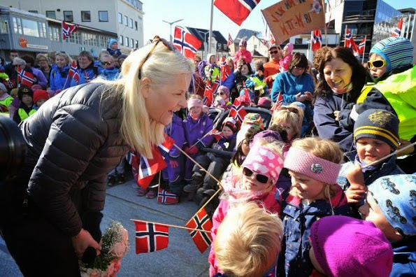 Princess Mette-Marit Opens The WWF's Annual Meeting In Svolvaer