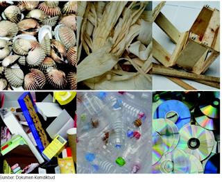 bahan baku limbah untuk kerajinan