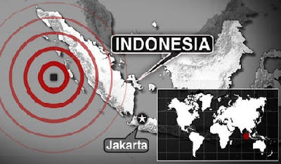 Powerful earthquake in Indonesia