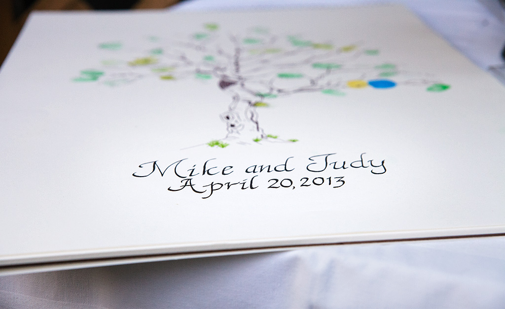 Thumbprint guestbook, Maryland Wedding Photography