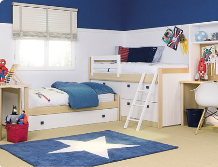 Cama mesa abatible camas autoportantes fotos tipos de camas dormitorios juveniles modernos - Cama tipo tren ...
