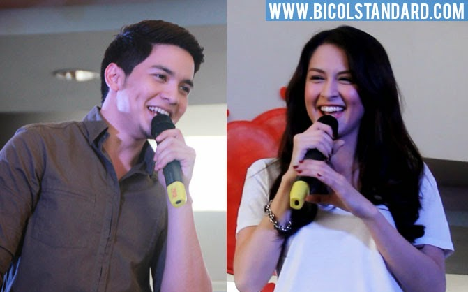 Marian Rivera and Alden Richards in Naga City - Carmela mall show
