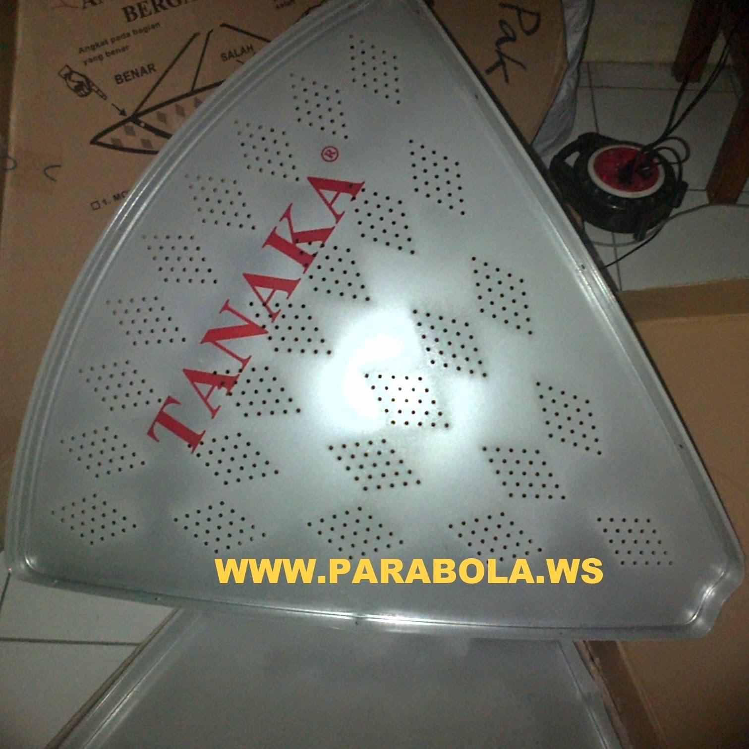antena parabola tanaka solid berlubang