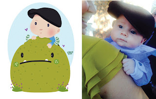 Green Pear Diaries, ilustraciones, María José Da Luz, Illustrated Portraits