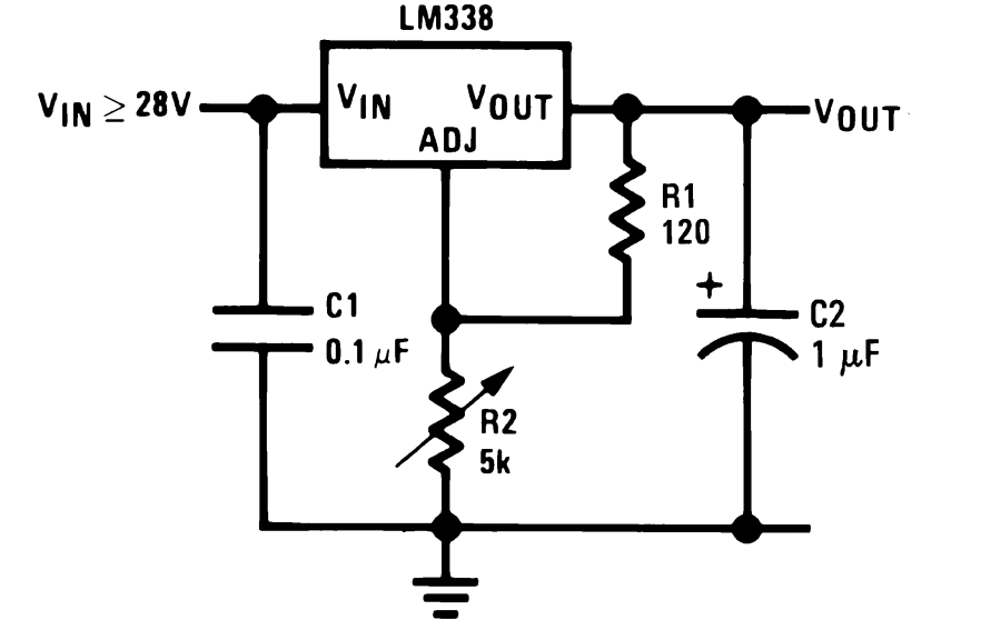 ic lm338 application circuits